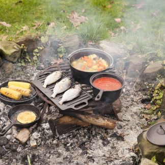 campfire cooking set